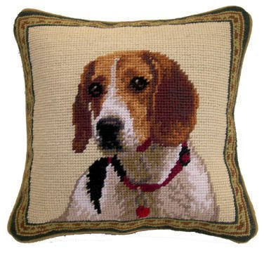 "14"" Pillow -Beagle"