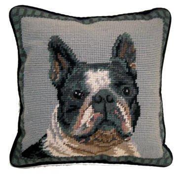 "14"" Pillow -Boston Terrier"