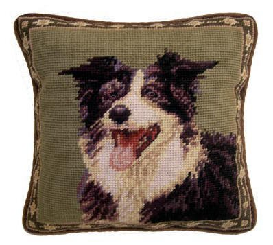 "1o"" Pillow Border Collie"