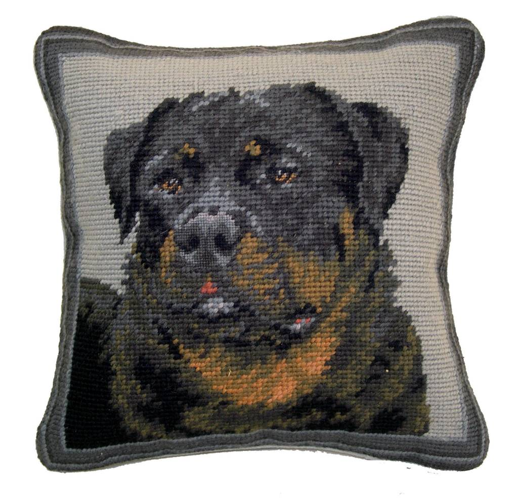 """1o"""" Pillow Rottweiler"""