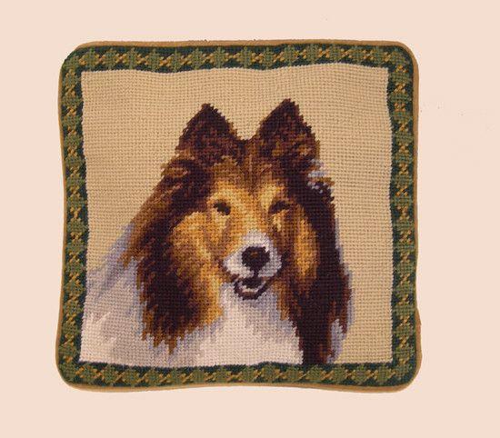 """1o"""" Pillow Shetland Sheepdog"""