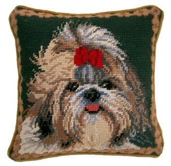 "1o"" Pillow Shih Tzu"