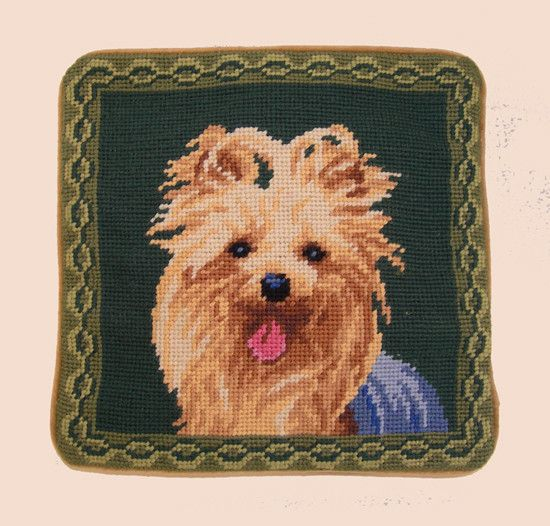 "1o"" Pillow Yorkshire Terrier"