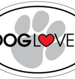 Dog Lover Oval Magnet