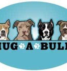 Hug-A-Bull Oval Magnet