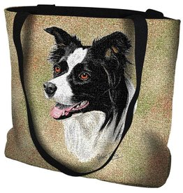 Tapestry Tote Bag Border Collie