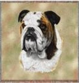 Tapestry Tote Bag Bulldog