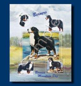 Large Gift Bag Bernese Mountain Dog