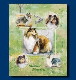 Small Gift Bag Shetland Sheepdog