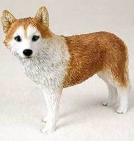 My Dog Small - Husky Red & White w/Blue Eyes