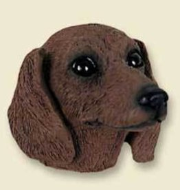 Magnetic Head-Dachshund RED
