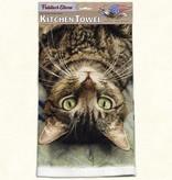Dish Towel - Gray Cat