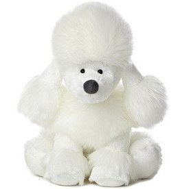 Willow the White Poodle - 10""