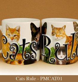 Pet Mug-Cats Rule