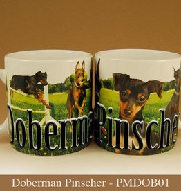 Pet Mug-Doberman Pincher