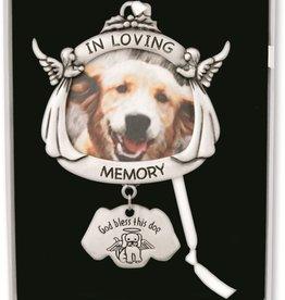 Dog Angle Frame Ornament
