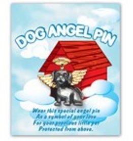 Dog Angel Pin
