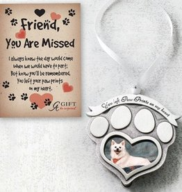 You Left Paw Prints Ornament
