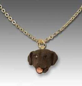 Pendant-Labrador Retriever  Chocolate