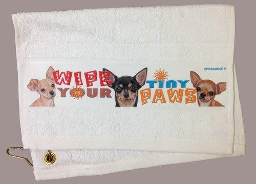 Chihuahua Paw/Slobber Towel