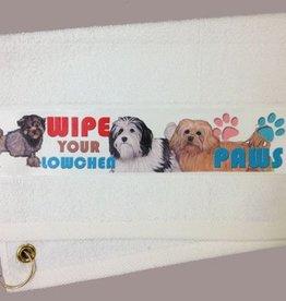 Lowchen Paw Towel