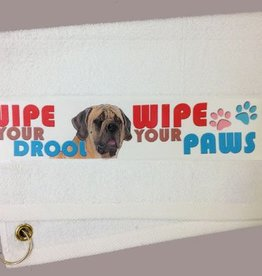 Mastiff Paw/Slobber Towel
