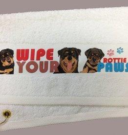 Rottweiler Paw/Slobber Towel