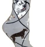 American Bulldog Socks