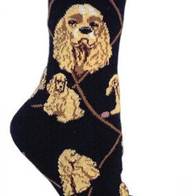 Cocker Spaniels Socks