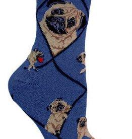 Pug (Fawn) Socks