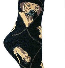 Rhodesian Ridgeback Socks