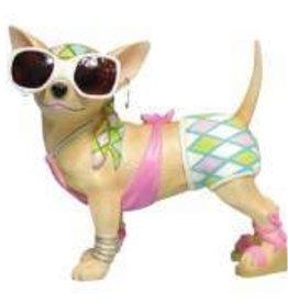 Chihuahua Fashion Figurine
