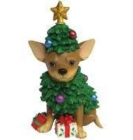 Chihuahua Christmas Tree