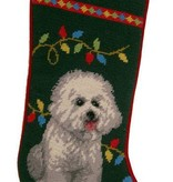 Christmas Stocking Bichons Fries