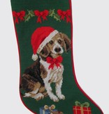 Christmas Stocking Beagle