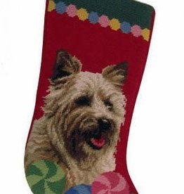 Christmas Stocking Cairn Terrier