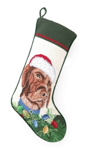Christmas Stocking German Pointer