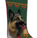 Christmas Stocking German Shepherd