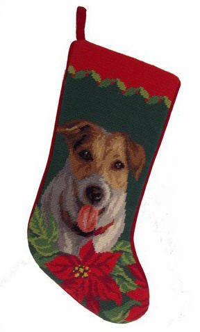 Christmas Stocking Jack Russell Terrier