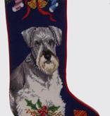 Christmas Stocking Schnauzer