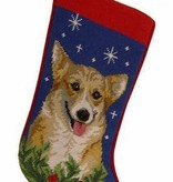 Christmas Stocking Welsh Corgi