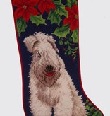 Christmas Stocking Wheaton Terrier