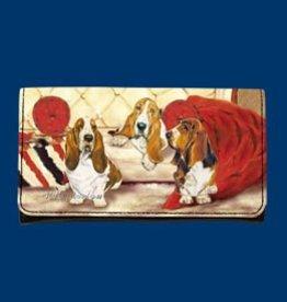 Wallet Basset Hound