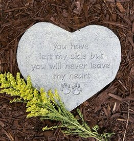 You have left my side Memorial Stone
