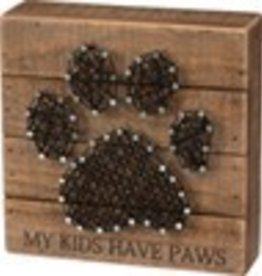 String Art - My Kids Have Paws