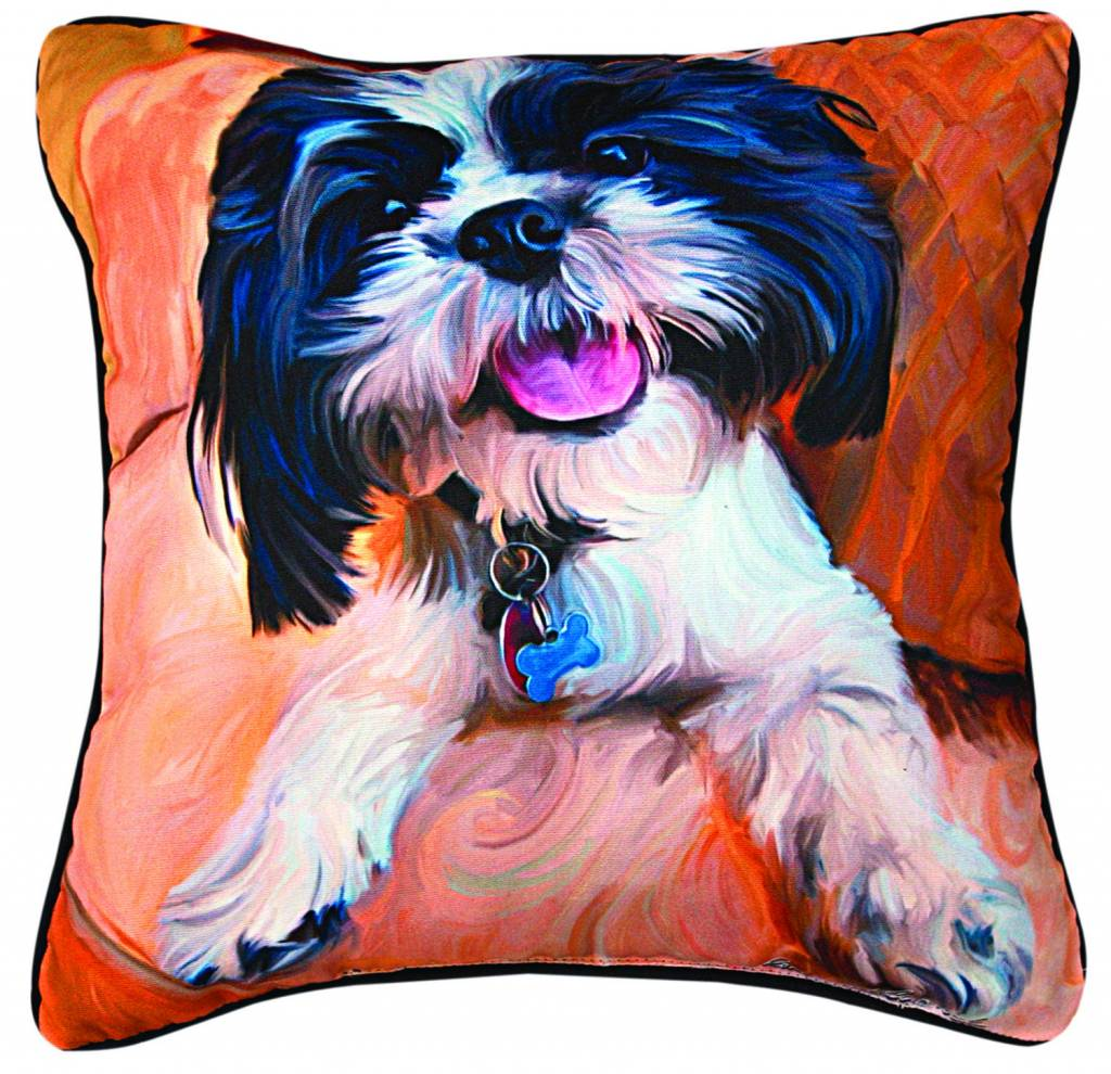 Shih Tzu Pillow Captivating Canines