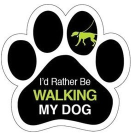 Paw Magnet  - I'd rather be walking my dog