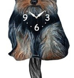Wagging Tail Clock, Yorkie