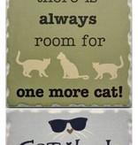 Cat Lover Coaster Set  (4)