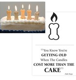 Birthday - Bone Candles